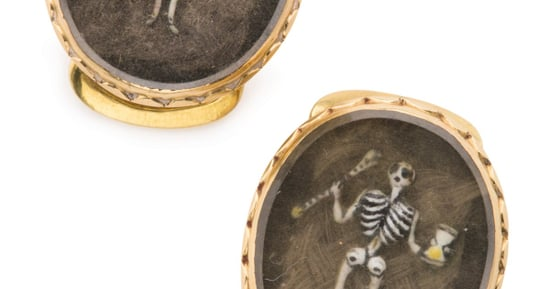 The Forgotten, Macabre World of Mourning Jewelry