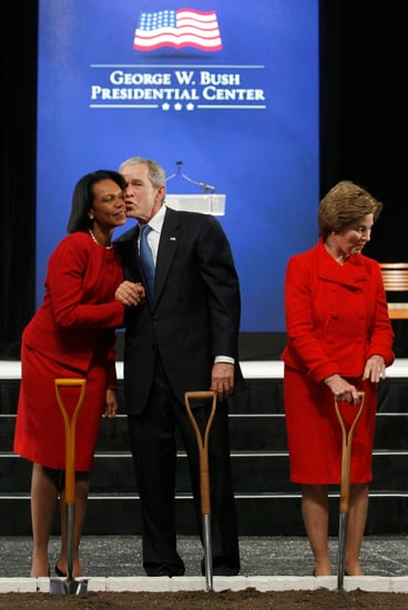 Pictures From George W. Bush Presidential Center Groundbreaking