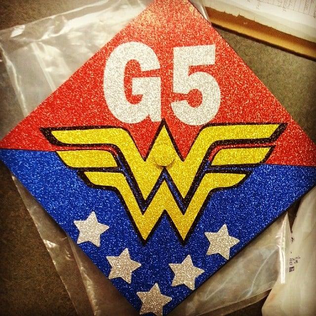 Wonder Woman is always a good choice.  Source: Instagram user mnkje64371