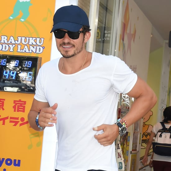 Orlando Bloom in Tokyo Pictures August 2016