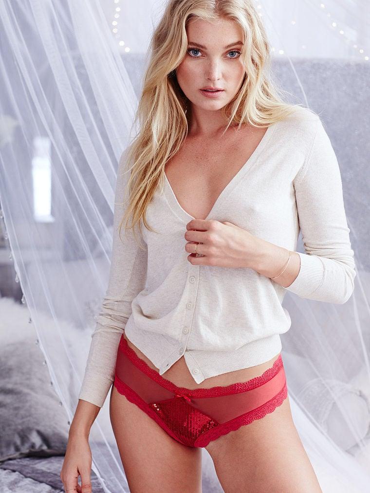 Sequined Santa Panties