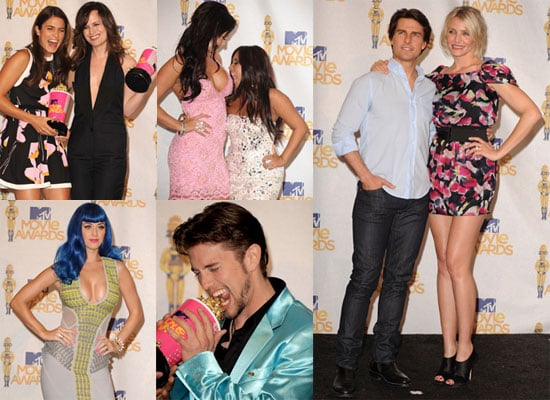 Pictures of Cameron Diaz, Tom Cruise, Nikki Reed, Katy Perry, And Jackson Rathbone at The MTV Movie Awards Press Room 2010-06-07 07:00:00