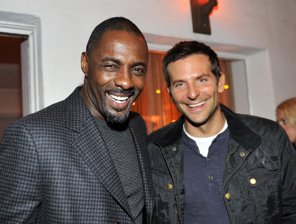Bradley Cooper and Idris Elba made a handsome pair at W magazine's Thursday bash.