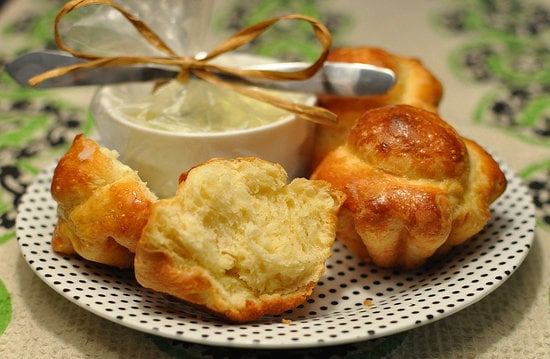 Brioche and Herbed Butter