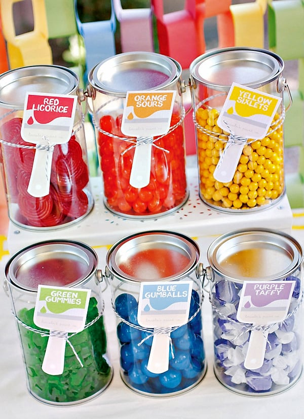 Paint Can Candies