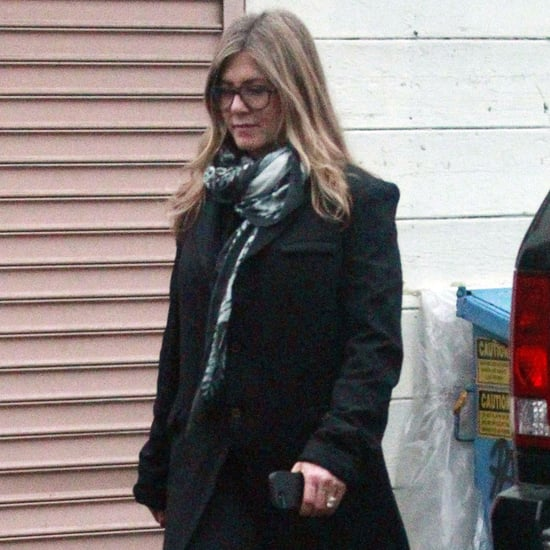 Jennifer Aniston and Justin Theroux Shopping Pictures