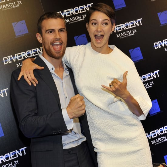Divergent Cast on Shailene Woodley's Hippie Habits