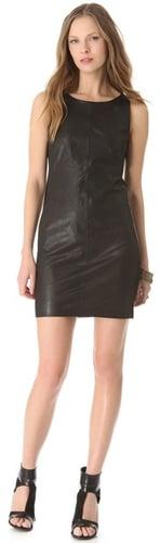 J brand ready-to-wear Lena Leather Dress