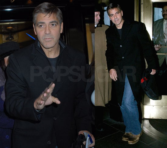 George Clooney in NYC