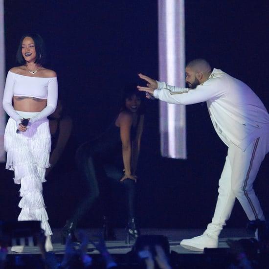 Drake Congratulates Rihanna With Billboard Message