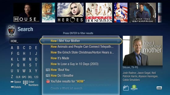 Daily Tech: TiVo Shows Off a Redesigned Search Feature