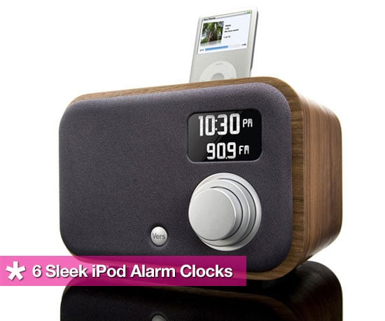 6 Sleek iPod Alarm Clocks That Won't Leave You Hating the AM