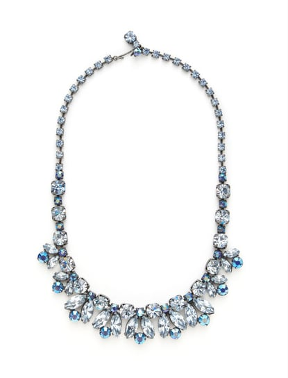 House of Lavande's crystal cluster necklace ($448) is a serious statement piece.