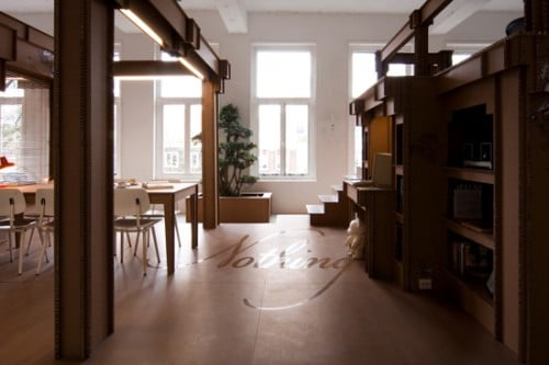 Home Away From Home: An Office Made From Cardboard