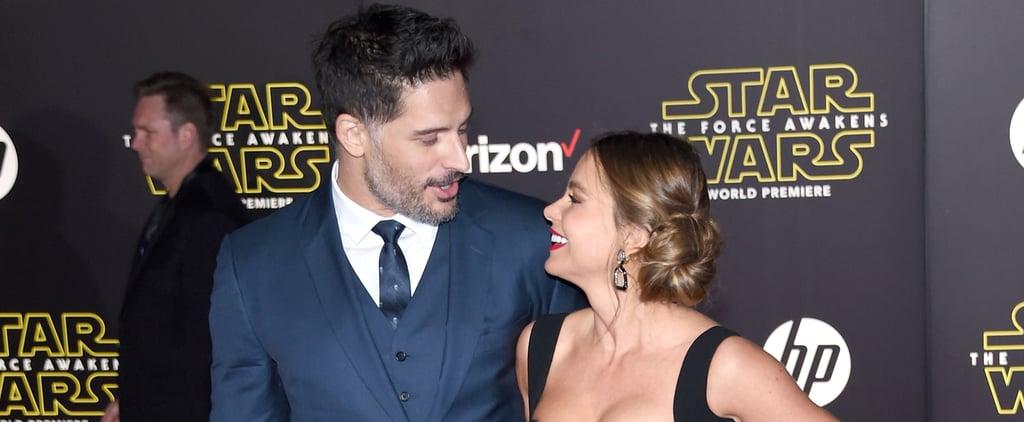 Sofia Vergara and Joe Manganiello Bring Their Newlywed Glow to the Star Wars Premiere