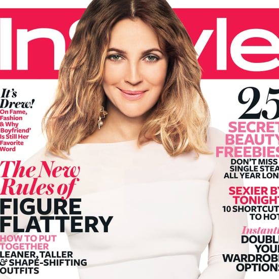 Drew Barrymore InStyle Pictures 2012