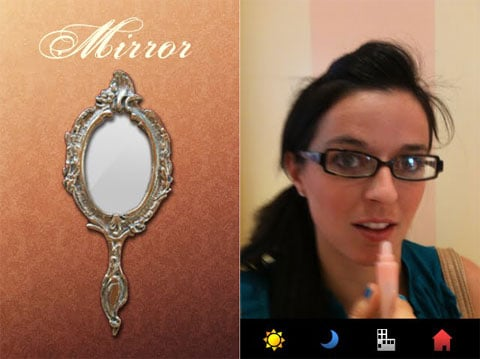Mirror iPhone App For iPhone 4
