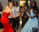 Jennifer Lawrence got grabby backstage when she tried to take Lupita Nyong'o's best supporting actress Oscar out of her hands.