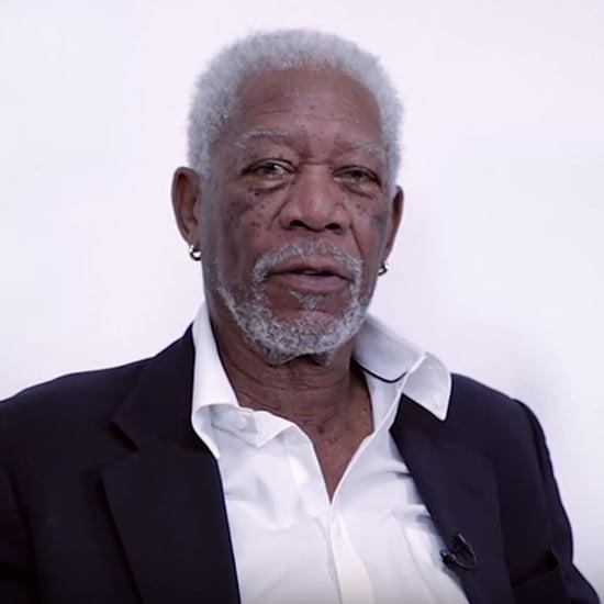 Morgan Freeman Reads Lyrics to Justin Bieber Song