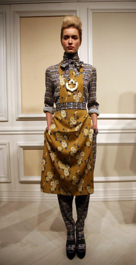 2011 Fall New York Fashion Week: Suno