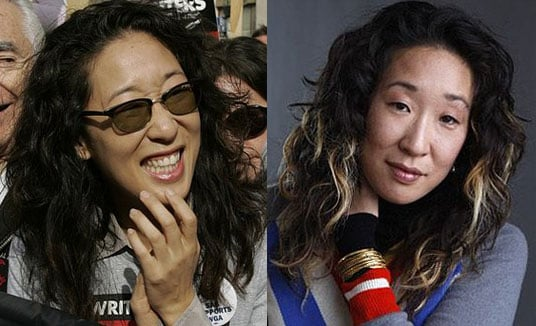 Sandra Oh's New Hair Color