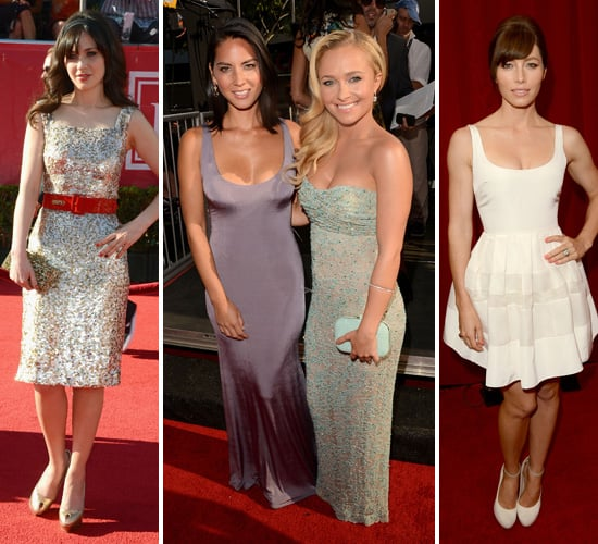 Zooey, Hayden, Jessica and More Rule the ESPY Awards Red Carpet