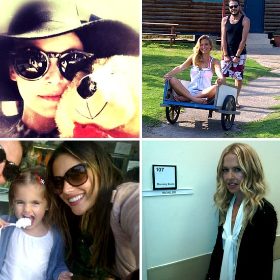 Pictures of Celebrities and Models on Twitter Sept. 6, 2011