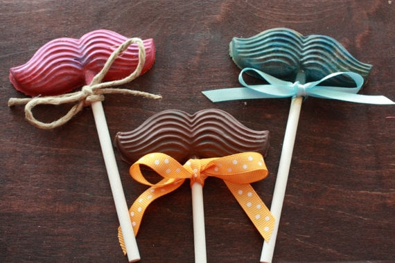 Ella Jane Crafts Mustache Crayons ($12 for a set of 12)
