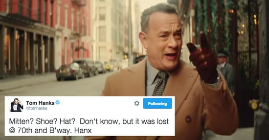 Tom Hanks Is Using His Twitter As A Lost And Found And It's The Best