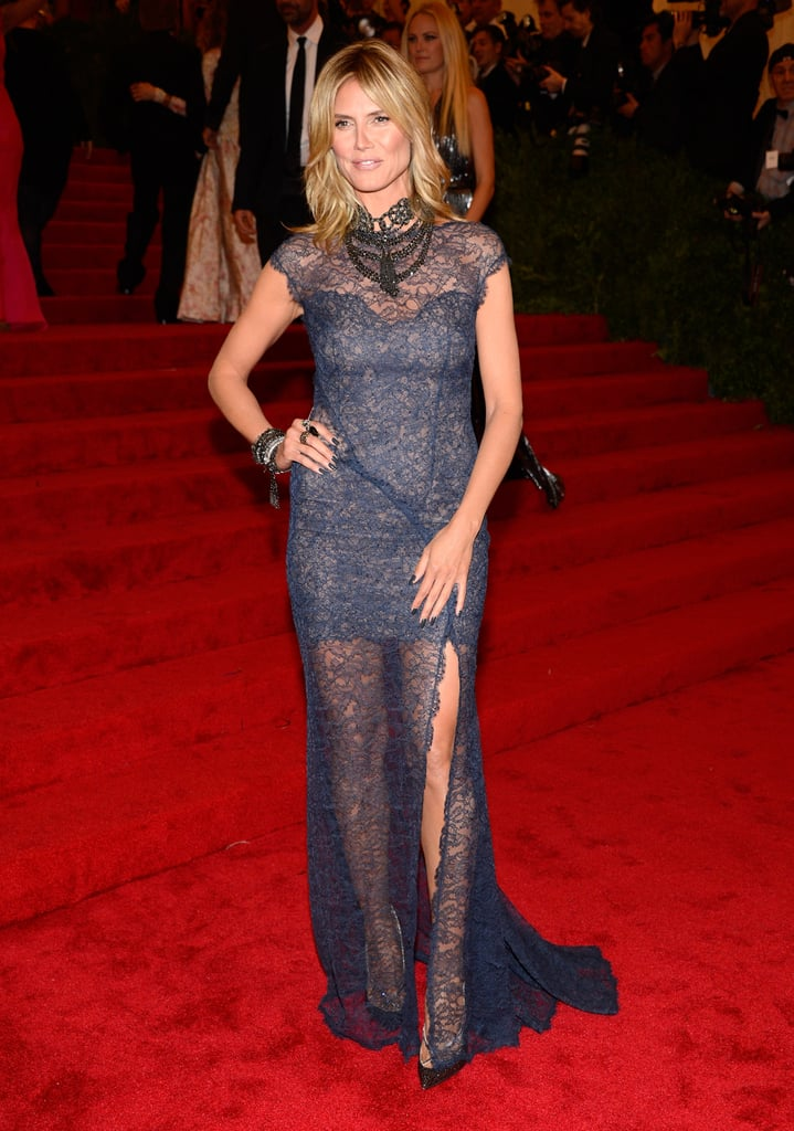 Heidi Klum was beautiful in Escada.