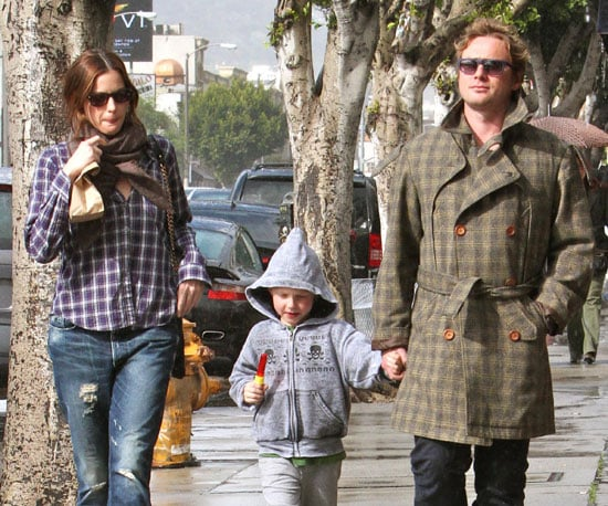 Photo Slide of Liv Tyler And Royston Langdon With Their Son Milo in LA