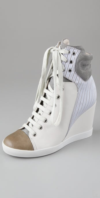 See by Chloe Hi Top Wedge Sneakers ($345)