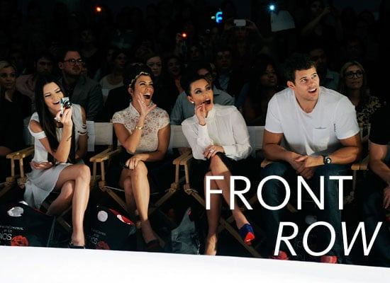 Pictures of Celebrities Front Row at Spring 2012 New York Fashion Week Anna Wintour, Nicki Minaj & More!
