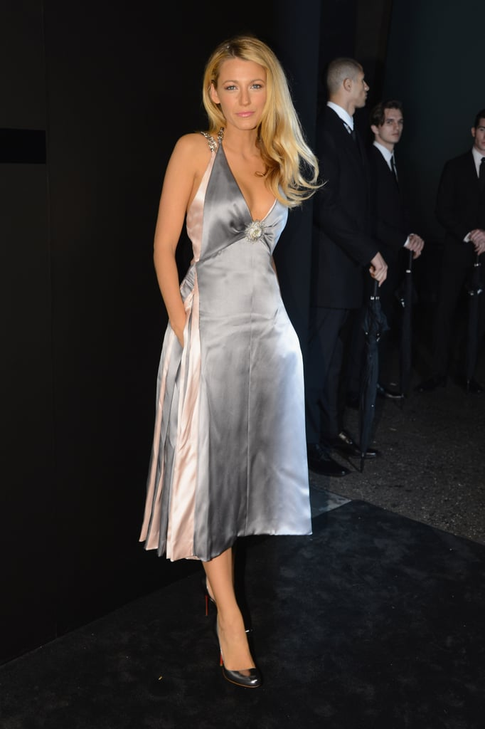 Blake Lively stepped out for Chanel's fine jewelry celebration.