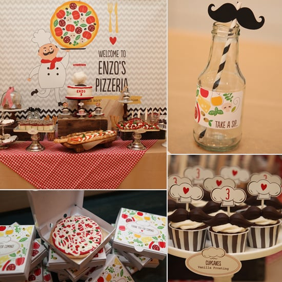 Birthday Pies For Everyone! The Cutest Pizza Party Ever