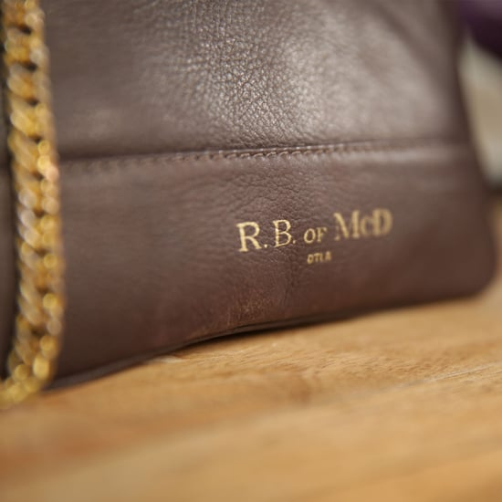 Leather Bags From R.B. of McD   Video