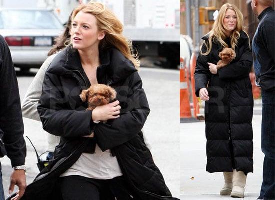 Blake Keeps Her Fashion Bundled Up but We'll Share It