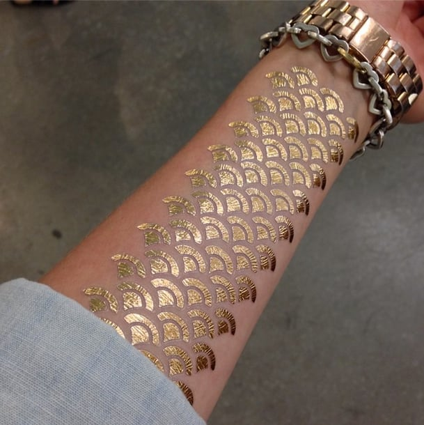Fish-Scale Forearm