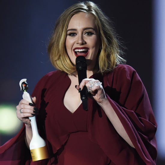 Adele Supports Kesha in Her Brit Awards Speech 2016