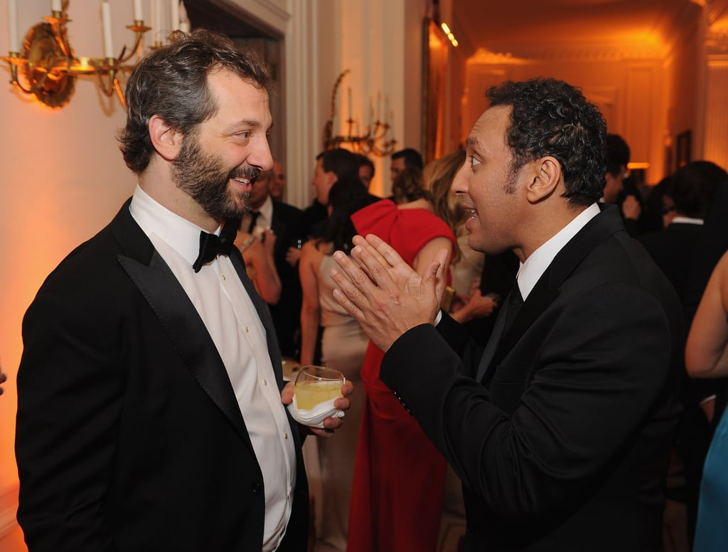 Judd Apatow came out to the event.