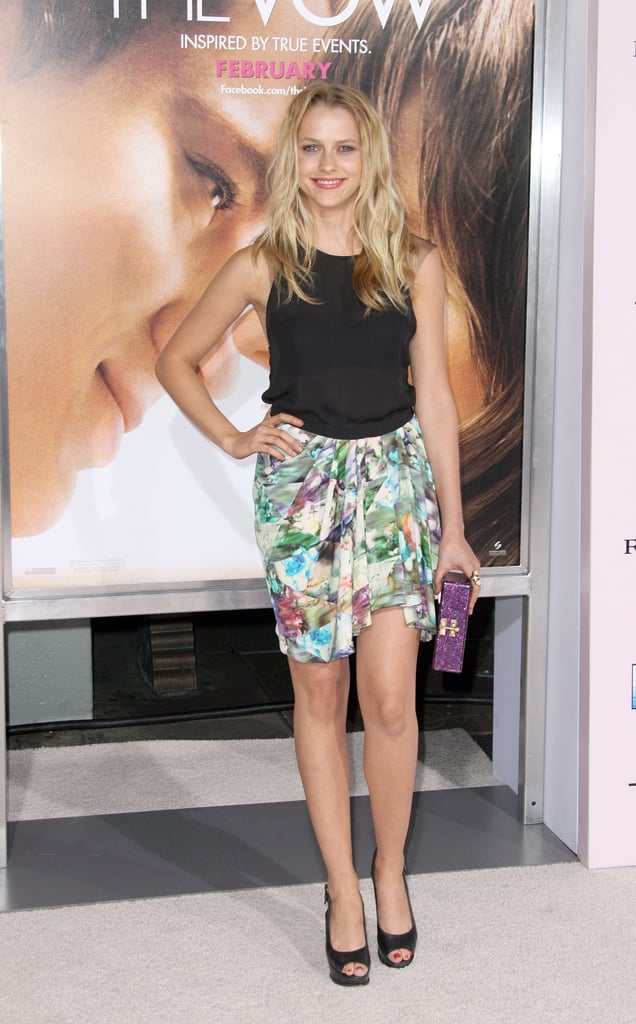 Teresa Palmer at the premiere of The Vow.
