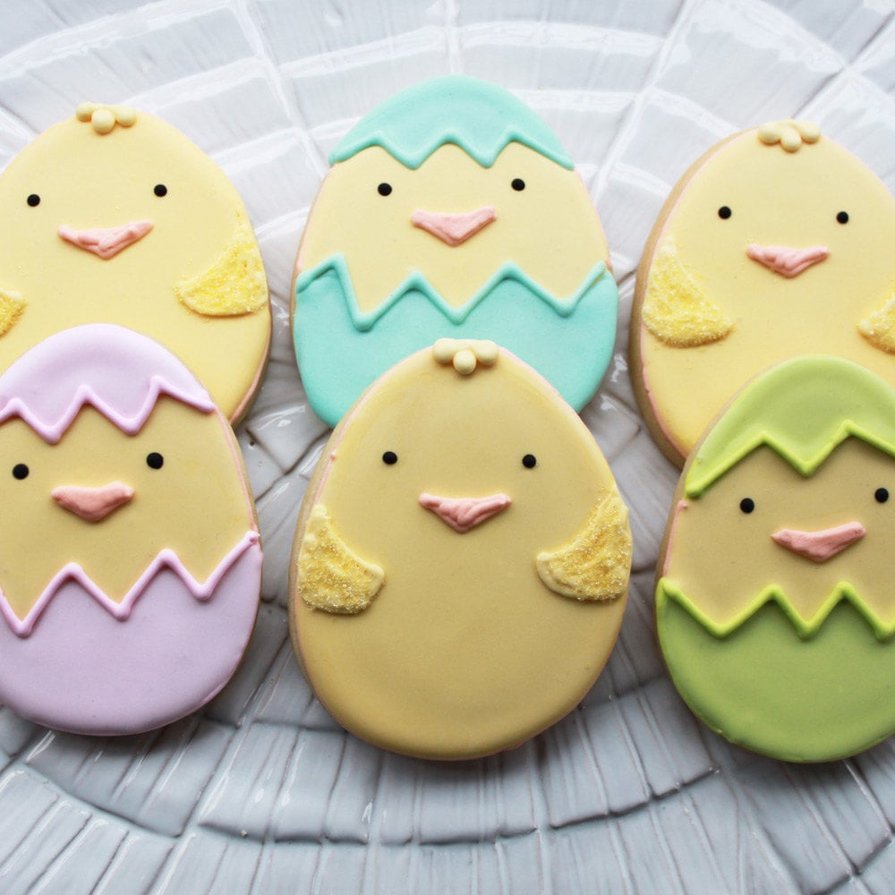 Whipped Bake Shop Hatching Chicks Cookies