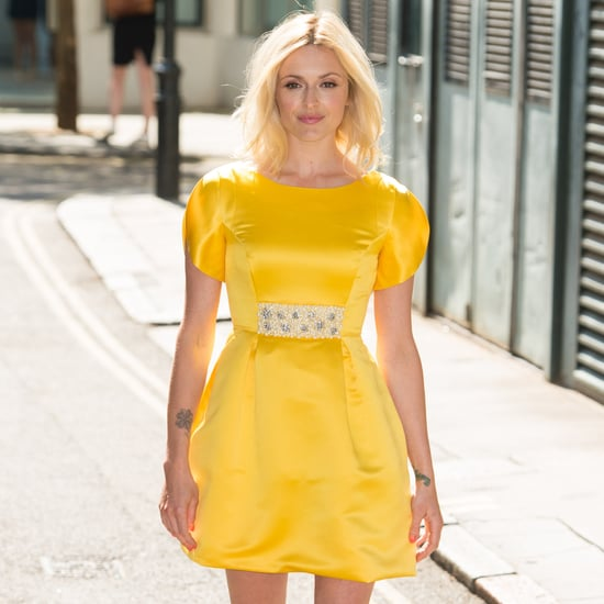 Fearne Cotton's Yellow Prom Dress From Very