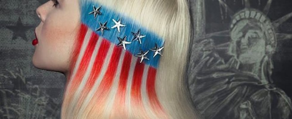 Proud to Be an American: Patriotic Hairstyles For the Fourth of July