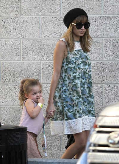 Nicole Richie and Harlow Madden headed to a concert together in LA.