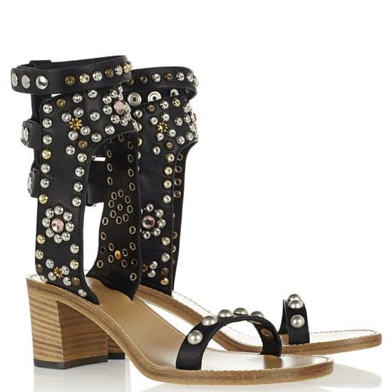 Best Block Heel Sandals Spring 2013