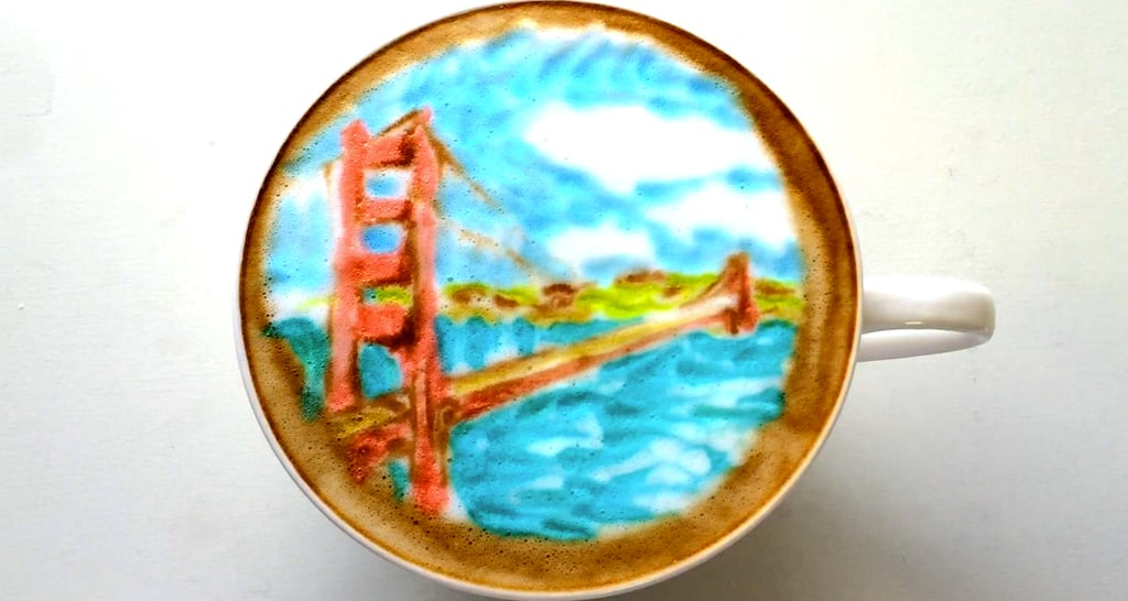 This Travel-Inspired Latte Art Will Give You a Serious Case of Wanderlust