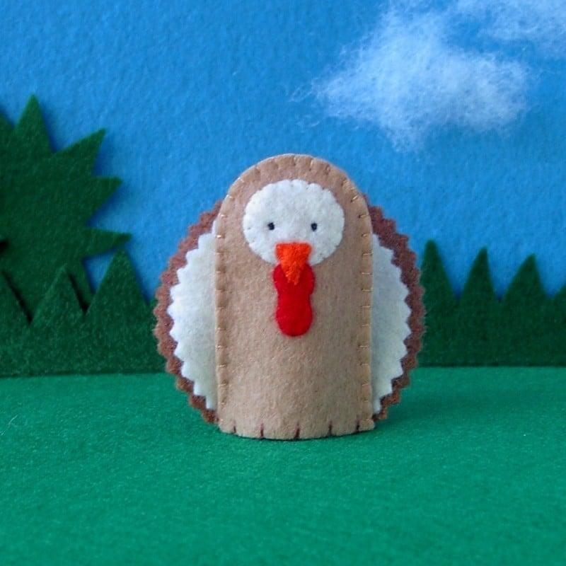 Turkey Finger Puppet