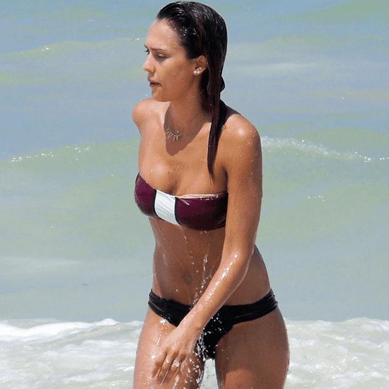 Jessica Alba in a Bikini in Mexico 2014 | Pictures