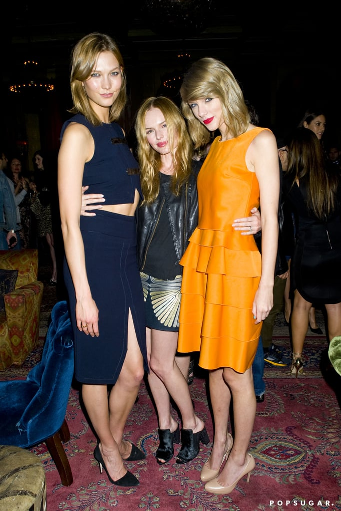 Karlie and Taylor met up with Kate Bosworth.